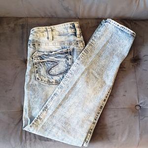 Boyfriend Silver Jeans